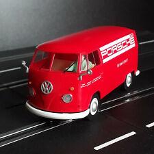 """VW Bus T1b Transporter Panel Van """"Porsche Racing"""" Slotcar 1:32 Scalextric C3755"""