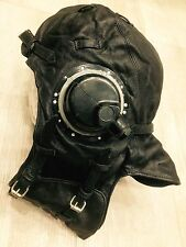 Russian Soviet flying leather helmet pilot of naval aviation 1940-1960 WW-2