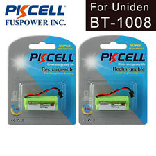 2pk Cordless Phone Battery AAA 800mAh 2.4V for Uniden BT-1008 BT-1021 BT-1016 CA