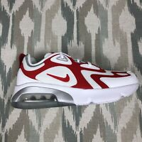 Nike Air Max 200 Youth Shoes White University Red GS Sz 5.5Y Womens 7 AT5627-101