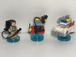 Lego Dimensions Ghostbusters Peter Venkman Ecto1 Ghost Trap 71228