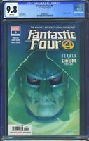 Fantastic Four 6 (Marvel) CGC 9.8 White Pages Esad Ribic Cover