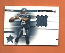 2003 ROOKIES AND STARS RC SENECA WALLACE JERSEY #d 234/550 SEATTLE SEAHAWKS