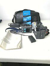 Sony DCR-TRV525 8mm Hi8 Digital8 Camcorder Bundle Excellent Condition Tested