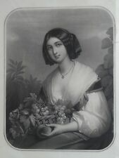 "Hippolyte Garnier (1802-1855) ""Francesca"" comparso, (241/13024)"