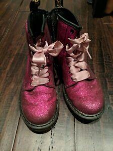 Doc Martens women's 5 uk 3/ 36eu pink glitter iuc