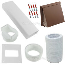 """Venting Vent External Kit For Bosch Tumble Dryer Wall Outlet 4"""" 100mm Brown"""