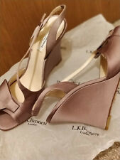 LK Bennett Shoes UK 7.5  nude Satin/Silk light purple