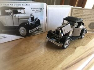 1928 First Chevrolet AB Deluxe Roadster  1/32 COA Nat Museum Re A67