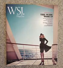 WSJ The Wall Street Journal Mag-THE WIDE WORLD-Summer Travel Issue-July/Aug 2011