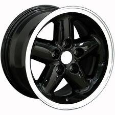 "15"" Wheels For Jeep Grand Cherokee Wrangler 87-06 15x8.0 Black 5x114.3 Rims Set"