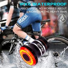 Smart Road Mountain Bike LED Cycling Rear Light Tail Brake Light Rechargeable