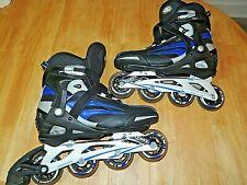 New listing DBX Men's Rollerblades Inline Skates Men's Size 12 Abec 7 Mothership Wheels Nice