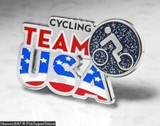 Olympic Pins Badge 2016 Rio De Janeiro Brazil Usa Usoc Icon Cycling