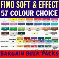 FIMO SOFT Polymer Modelling Clay 3 pcs 168g, PICK COLOURS