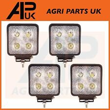 4 x 40W CREE LED Work Light Lamp Flood Beam 12V 24V Tractor Digger 4WD JCB Lorry