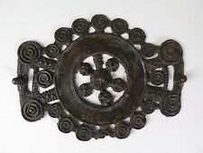 Bronze rosette harness or strap decoration or Phalera amulet. Provenance