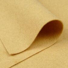 Woolfelt Beach Sand ~ 22cm x 90cm / felt fabric quilting gold honey yellow