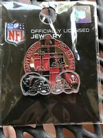 New & Sealed NFL Tampa Bay Buccaneers Texans- Bucs Game Day Pin WinCraft