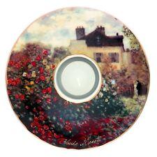 """Goebel PORCELANA SOPORTE DE VELA """"Claude Monet - Das Künstlerhaus 1873"""" - NUEVO"""