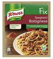 3 x Knorr Fix Spaghetti Bolognese - New & Fresh from Germany !