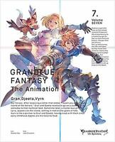GRANBLUE FANTASY The Animation Vol.7 Blu-ray Limited Edition  SERIAL CODE