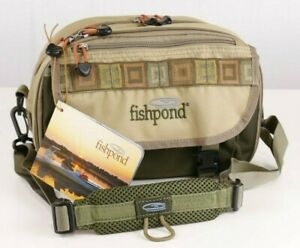 Fishpond Blue River Chest/Lumbar Pack. - Khaki/Sage Green - FREE FAST SHIPPING