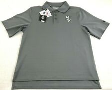 separation shoes c7f0e bc222 Chicago White Sox UNDER ARMOUR Golf Polo Shirt Boys YM Youth Medium NWT