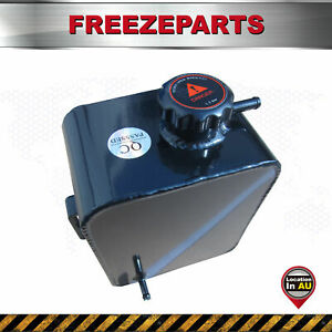 Universal 2.5L Coolant Radiator Overflow Recovery Water Tank Bottle Aluminum