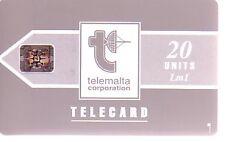 Telefonkarte Malta gut erhalten + unbeschädigt (intern: 721 )
