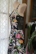 VINTAGE  ~ JAY JAYS ~ Stunning Floral Sun DRESS * Size 6 * REDUCED !!