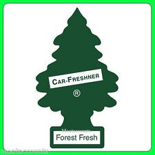 Forest Fresh 2D Magic Tree Air Freshener [TREE11] Green