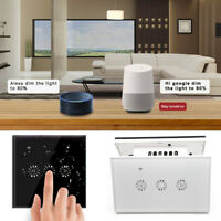 Smart WIFI Touch Control Switch Stepless Dimmer Work with Amazon Alexa Ewelink