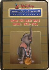 How The Best Was Won 1933-1960 BETAMAX Disney Limited Gold Edition II RARE