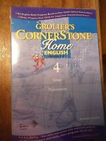 Grolier's CORNERSTONE HOME ENGLISH #4 Grades 3-4 Usage Punctuation CD-ROM  NEW