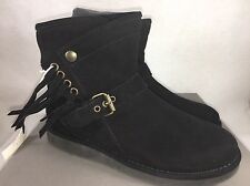 Ugg Australia Womens UGG Collection Karisa Stingray boots Suede Black Size 5