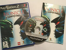 PLAYSTATION 2 PS2 LEGO BIONICLE HEROES gioco + scatola istruzioni/COMPLETO PAL