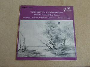Tschaikowsky/Tartini - Teufelstriller - Boston - Münch/Reiner - RCA LST (063)