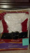 8 Piece Santa Suit With Fur Trim fits up to size 48