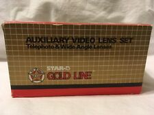AUXILIARY VIDEO LENS SET STAR GOLD LINE