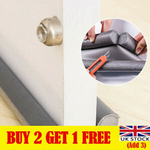 Under Door Draft Guard Stopper Soundproof Reduce Noise Door Bottom Sealing
