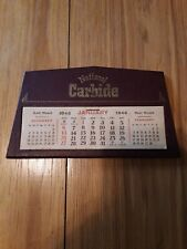 Miners National Carbide Desk Calendar Advertisement