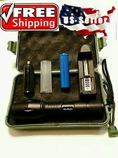 AUTHENTIC G700 Military Grade Tactical Flashlight LED x800 Lumens+ CASE BATTERY