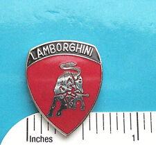 LAMBORGHINI - Hat pin , lapel pin , tie tac , hatpin GIFT BOXED  red