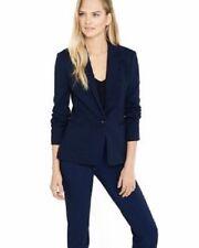 Express Women's Navy Texture Knit Blazer Jacket Size S