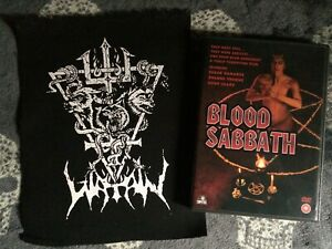 Watain Snakes & Wolves Of Satan Medium Back Patch Black Metal Sworn To The Dark