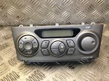 TOYOTA CELICA COUPE 2002 1.8 VVT-I CLIMATE CONTROL PANEL 88650-2B660