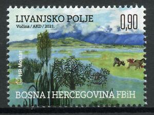 Bosnia & Herzegovina Nature Stamps 2021 MNH World Wetlands Day Trees 1v Set