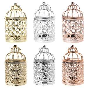 Decorative Hollow Lantern Candlestick Candle Holder Tea Light Home Party Wedding