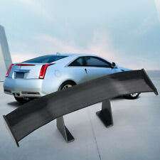 1x Mini Auto Car Accessories Tail Decoration Spoiler Wing Carbon Fiber Universal